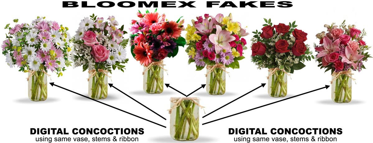 BLOOMEX FAKE FLORIST DIGITAL CONCOCTIONS