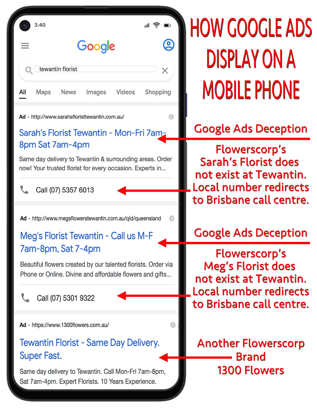 GOOGLE ADS MOBILE PHONE